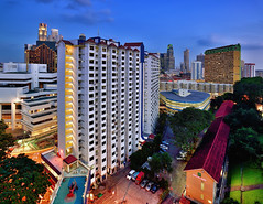Hemmed in (Rebecca Ang) Tags: city singapore cityscape aerial bluehour hdb thebluehour urbanarchitecture housinganddevelopmentboard pearlshill rebeccaang
