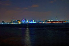 CITY SKYLINE AT NIGHT (ONETERRY. AKA TERRY KEARNEY) Tags: trees sky urban sun art heritage history nature water sunshine weather skyline museum architecture liverpool docks canon buildings reflections river geotagged boats europe skies market wildlife ships culture parks cathedrals unesco explore birkenhead kearney londonroad mersey pierhead albertdock limestreet wirral grade1 merseyside listedbuilding rivermersey wirralway ellesmereport 2013 liverpoolone whitbypark oneterry eos1dmarkiv terrykearney geo:lat=53405004 geo:lon=2997502