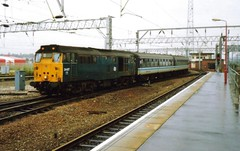 Crewe, 19th September 1992 (elkemasa) Tags: crewe 1992 class31