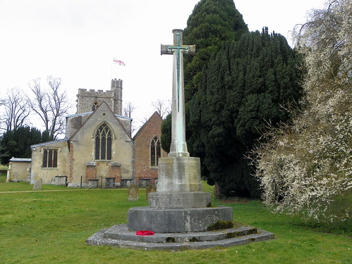 GOC Studham 033: Great Gaddesden War Memorial Cross