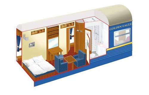 Golden Eagle Trans-Siberian and Silk Road - Imperial Suite plan