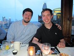 Tim and Jon (pr0digie) Tags: restaurant jon pittsburgh mtwashington duquesneincline timdoyle georgetowneinn