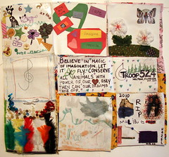 Girl Scout Troop 524 from Milton, FL (The Dream Rocket Project) Tags: christmas family school trees people mountain newyork green art home water nova animal glitter kids trash stars religious washington community war paint peace kentucky space flag unitedstatesofamerica group cancer conservation diversity astronaut felt save aliens nasa clean explore health environment leader twintowers express olympic agriculture racism elementary planting abuse humans equality global facebook discover intolerance saturnvrocket presidentobama internationalfibercollaborative thedreamrocket