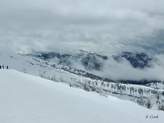 dissipating clouds (stevencook) Tags: ski skiing grand 420 skiresort wyoming grandtarghee 2013 stevencook scook stevencookrealtycom