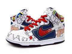 Sekure D x Cosentino Dunk High (Sekure D) Tags: magic nike custom dunk cosentino sekured