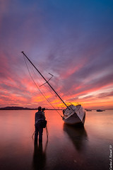 Doroteo (Carlos J. Teruel) Tags: sunset atardecer boat nikon mediterraneo barco paisaje tokina murcia nubes fx marmenor lightroom marinas filtros xaviersam onlyraw singhraynd3revgrad carlosjteruel d800e