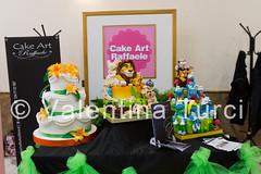 cake design week (Valentina Turci) Tags: italy art colors cake design king italia lion pasta sugar di evento napoli naples week re tamron leone smurfs torta fiera zucchero puffi 1750mm expò canoneos550d