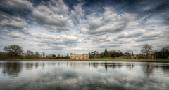 Audley End House Panorama (Mark Seton) Tags: sky cloud river mansion essex gatehouse saffronwalden audleyendhouse audleyend uttlesford countyofessex