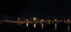 Mosman Lollipops (J_Care) Tags: light colour reflection water night canon boats westernaustralia mosmanpark 600d