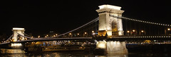 Szchenyi lnchd / Pont  chanes (Germanboybordeaux) Tags: voyage bridge night hungary nacht budapest pont brcke nuit ungarn kettenbrcke chainbridge hongrie szchenyilnchd pontchanes