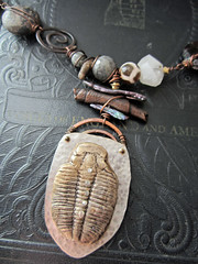 IMG_8558 (stacilouise) Tags: art wire handmade mixedmedia rustic polymerclay metalwork organic artisan fossils wirework artjewelry silverclay artbeads polymerclaybeads metalclay polymerclayjewelry bronzeclay stacilouiseoriginals nartjewelry