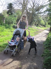 Another pose for my camera IMG_2265 (tomylees) Tags: katie astrid april 25th buggy thursday footpath middlesex iestyn 2013 greenfordgreen