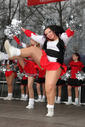 Bbw cheerleader