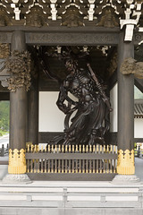 The Main Gate  - () 028 (Art Project ()) Tags: sculpture art japanesegarden oriental  japaneseart hyogo buddhistart   shrinesandtemples  japanesearchitecture guardiandeities          nenbutsushu      japanesefinearts   nenbutsushusanpouzanmuryojuji theroyalgrandhallofbuddhism