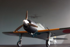 Japanese Zero fighter (James Tung) Tags: fighter zero witty 52 172 diecast a6m5