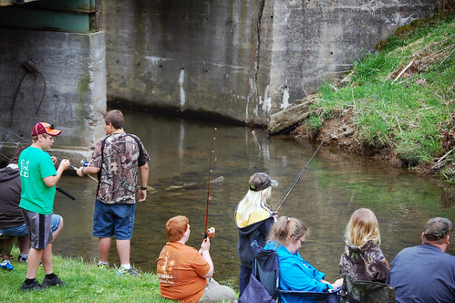 Annual Kids Fishing Day at Natural Tunne by vastateparksstaff, on Flickr