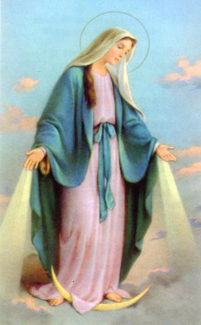María Inmaculada de la Medalla Milagrosa