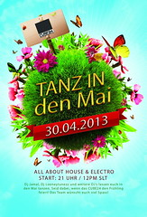 Tanz in den Mai @ CUBE24 (blacksunBarbosa) Tags: party house photoshop dance may sl secondlife tanz electro tunes blacksunbarbosa flashlightemotion