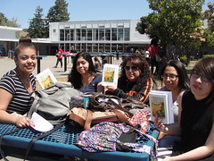 World Book Night Book Recipients @ Tennyson High School - April 23, 2013 - Hayward, California - 5683 (Hayward Public Library) Tags: california reading libraries books literacy thelanguageofflowers cityofhayward 94541 haywardpubliclibrary vanessadiffenbaugh worldbooknight2013