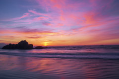 Seal Rock Sunset (alan howe) Tags: sunset sealrock