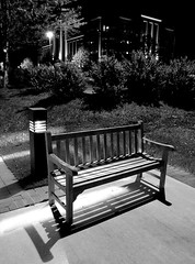 (mikebfotos) Tags: lightsandshadows benches engineeringasart