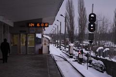 Lineside signals at Lisova (Лiсова) station (Marcus Wong from Geelong) Tags: railroad train underground subway metro rail railway ukraine kiev kyiv kievukraine україна київ kievmetro київськийметрополітен київськеметро europe2012 київукраїна