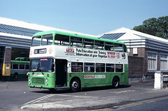 DVL 434 Outside Caernarfon depot (Moving Britain) Tags: caernarfon crosvillewales rma434v dvl434