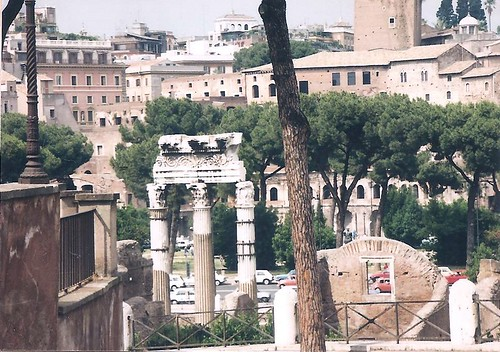Foro Romano: Tempio dei Dioscuri (Temple of Castor and Pollux)