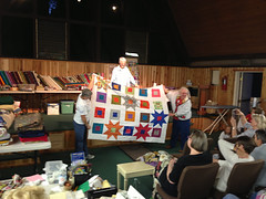 Quilt Retreat Spring 2012 b-38 (Hartland Christian Camp) Tags: quilt craft christiancamp geocity quiltretreat hartlandchristiancamp exif:iso_speed=125 exif:make=apple camera:make=apple geostate geocountrys exif:aperture=24 exif:focal_length=413mm craftingretreat exif:model=iphone5 camera:model=iphone5