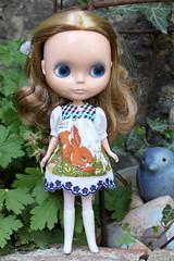 Vintage hanky baby doll dress...