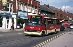 Barbara in Alfreton (Moving Britain) Tags: trent metroline alfreton trentbuses m201urc