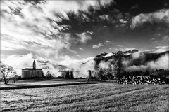 Colza di Enemonzo (andaradagio) Tags: bw italy canon landscape italia carnia bianconero paesaggio friuliveneziagiulia sigma1020 flickraward enemonzo andaradagio nadiadagaro