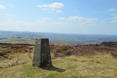 """The Rough"" Trig point (Aureol) Tags: hill trig pendlehill pendle trigpoint therough"