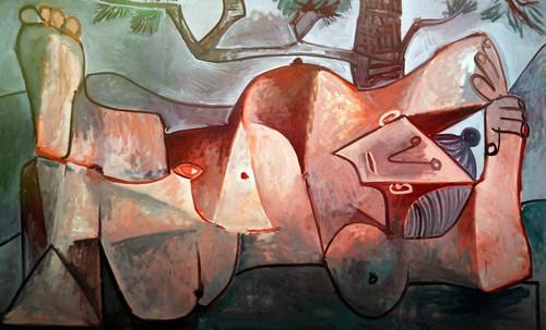 "Majas, homenajes de Francisco de Goya y Lucientes (1802), Eugéne Delacroix (1826), Amadeo Modigliani (1916), Pablo Picasso (1906), (1931), (1959), (1964). • <a style=""font-size:0.8em;"" href=""http://www.flickr.com/photos/30735181@N00/8746852919/"" target=""_blank"">View on Flickr</a>"