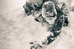 SNOW FIGHT (Tamaro Photo) Tags: winter snow minnesota fun laughter mn tackle snowfight tamaro