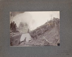 Homestead, Iowa, Rock Island Railroad, Train Wreck, CRI&P (photolibrarian) Tags: crip trainwreck rockislandrailroad homesteadiowa