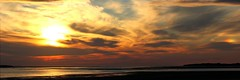 Sunset Panorama with Sunbow from North Devon 21-05-13 (James Lennie) Tags: panorama clouds canon stitched sunbow quotcanon quotnorth quotduskquot quotphotographyquot quotsunsetquot msice canonf4l70200zoomlens quotsunquot devonquot 600dquot quotdevonquot