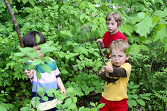 (mightymarce) Tags: outdoors sticks woods may quinn ren donovan sachem 2013