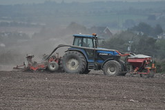 Ford 8770 Tractor & Kvnereland Accord DF2 Drilling System (Shane Casey CK25) Tags: city blue tractor ford barley accord spring hp seasons power near farm cork farming grain working system till land crops farmer agriculture setting pulling tilling drilling agri tillage 8770 df2