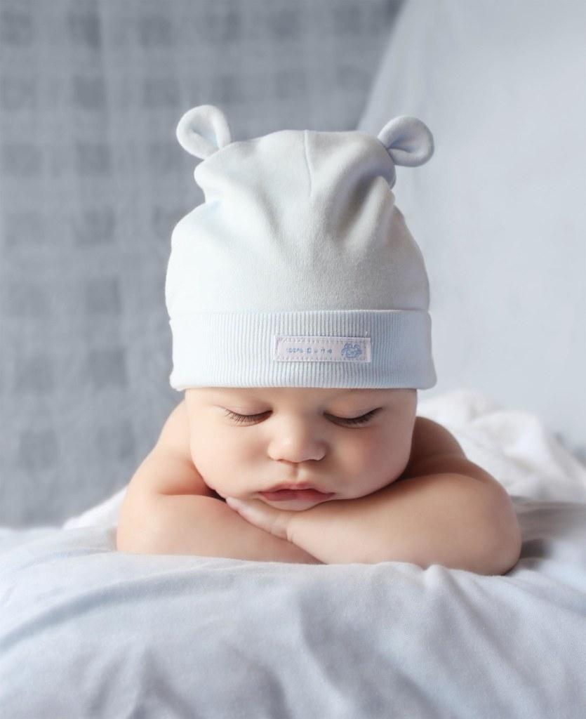 Saúl Curbelo - 3 meses. (Elena López Quintana) Tags  blue boy sleeping c6ca34ca62a