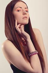 Clean Neon (Sarah Victoria - Fashion Photographer) Tags: portrait beauty fashion hair neon fashionphotography minimal redhead straight retouching fashionportrait beautyphotography skinretouching highendretouching