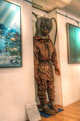 Scuba 1 (marcovdz) Tags: old france gear scuba diving suit diver provence aqualung var hdr antic plonge ancien sanary plongeur 2xp scaphandre scaphandrier scubamuseum musedelaplonge