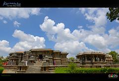Hoysaleswara temple (ಹೊಯ್ಸಳೇಶ್ವರ ದೇವಸ್ಥಾನ), Halebidu, Karnataka. (GOPAN G. NAIR [ GOPS Photography ]) Tags: india tourism stone temple photography carving karnataka halebidu hoysala gops gopan hoysaleswara hoysaleshwara gopsorg gopangnair gopsphotography