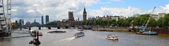 river thames at westminster (stusmith_uk) Tags: london westminster landscape july housesofparliament riverthames 2016