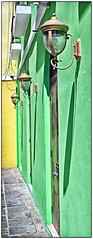 D.O.F. (SamyColor) Tags: oldsanjuan puertorico streetlamps streetphotography sanjuan aviary lamps viejosanjuan lightroom lamparas faroles fotografiacallejera canon50d tamron28mmf25adaptall2 lightroom3 colorefexpro4 lamparascallejeras