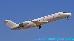 EC-HEK - Air Nostrum - Canadair CL-600-2B19 Regional Jet CRJ-200ER - PMI/LEPA (Juan Rodriguez - PMI/LEPA) Tags: nikon d90 sigma 70200mm 80400mm pmilepa aeropuerto airport sonsanjuan sonsantjoan palma mallorca airplane plane aircraft aeroplano canadair crj200er regionaljet airnostrum iberia iberiaregional