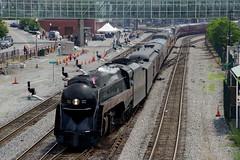 N&W #611 AT ROANOKE, VA (railfan1967) Tags: va roanoke nw 611 484steamengine norfolksouthern norfolkwestern