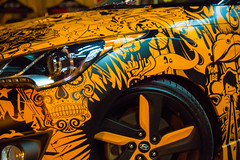 AUTO FLASH (BLEUnord) Tags: saguenay auto automobile car orange icn design icndesign personnalisation vhicule icondesign