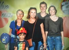 Portrait de famille en Belgique