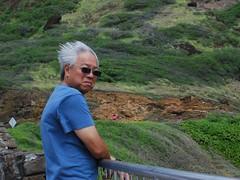 Windswept (mahteetagong) Tags: hawaii nikon d80 35mmf18 windward coast blowhole wind storm hair oahu
